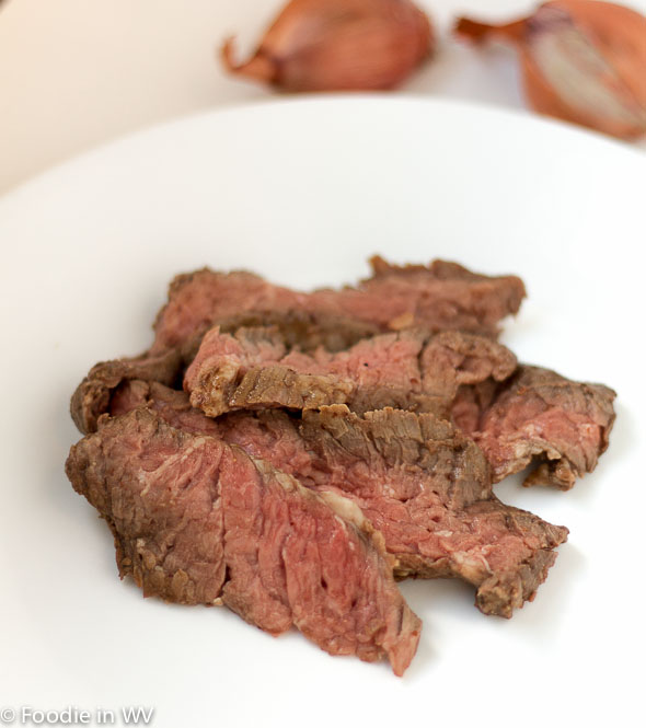 Coffee Marinated Skirt Steak