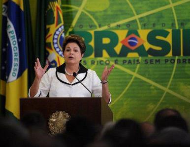 Subiu a Popularidade de Dilma Rousseff presidente do Brasil