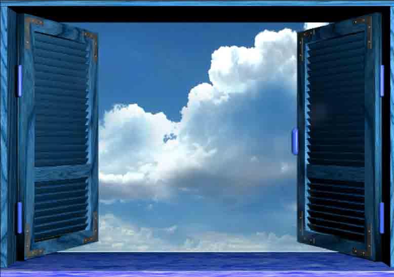 Le immagini inventate finte finestre - Una finestra sul cielo ...