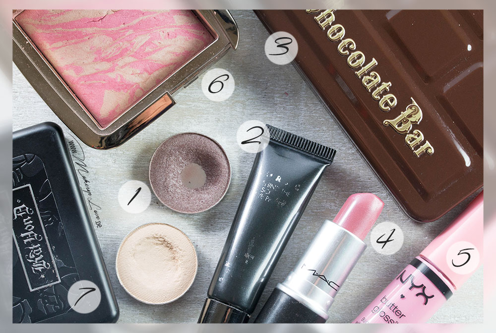 Beauty Favoriten 2014 Lieblinge Kat von D makeupgeek NYX MAC Too Faced LORAC Hourglass