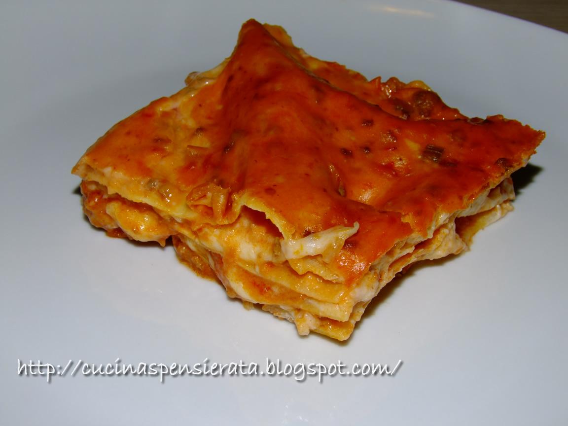 Cucina Spensierata: Lasagne al ragù e mozzarella