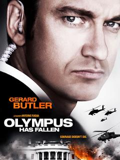 Olympus Has Fallen poster starring Butler