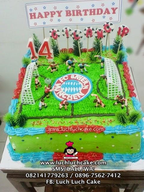 Kue Tart Bayern Munchen Daerah Surabaya - Sidoarjo (REPET ORDER)