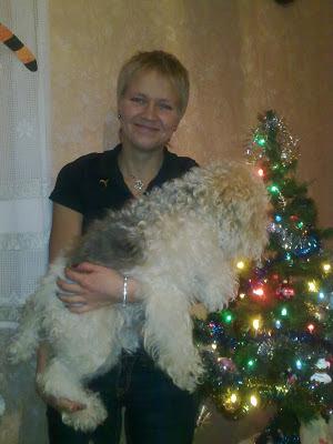 Новый Год 2010 - с Нордой - Мордой - под елкой