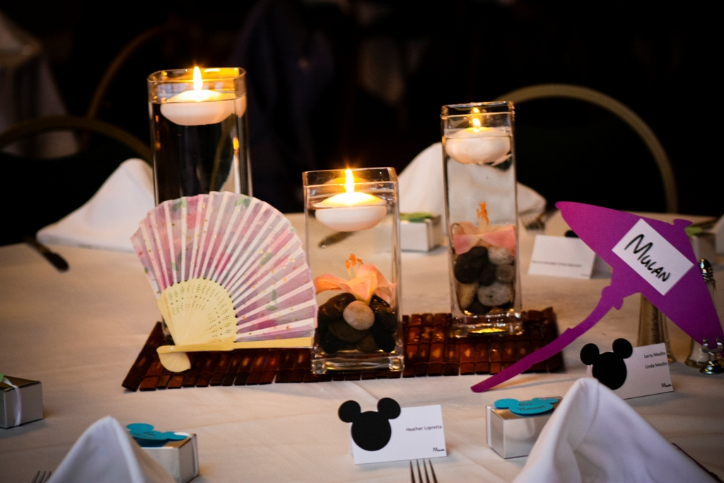Ultimate Disney Weddings Centerpieces Part One This Fairy Tale Life
