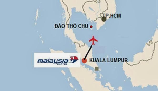hilangnya pesawat Malaysia Airlines