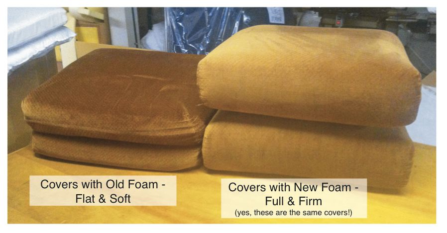New Foam Cushions