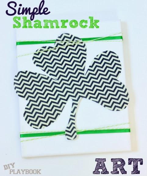 simple shamrock art