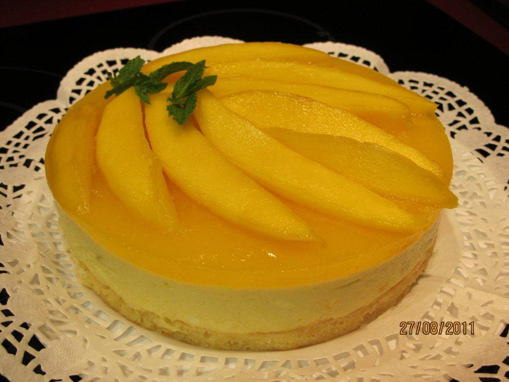 mango mousse pie mango mousse recipe mango mousse cake slice the mango ...