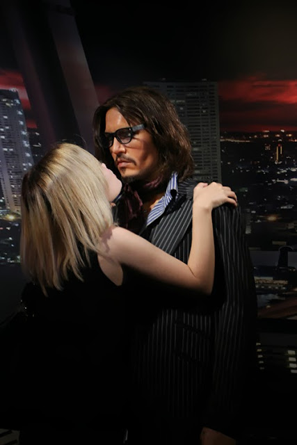 Madame Tussauds Bangkok johnny depp