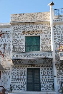 Dekorere innganger til bygninger