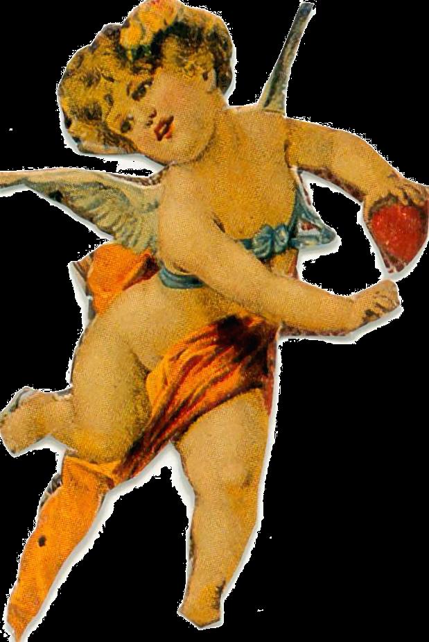 Старинные открытки ангелы