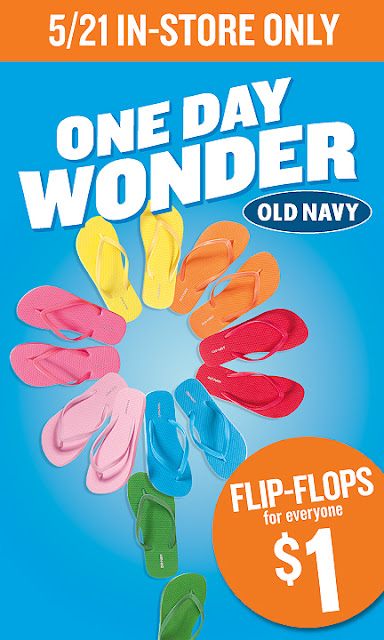 old+navy+1+dollar+flip+flops+3 $1 Flip Flops at Old Navy