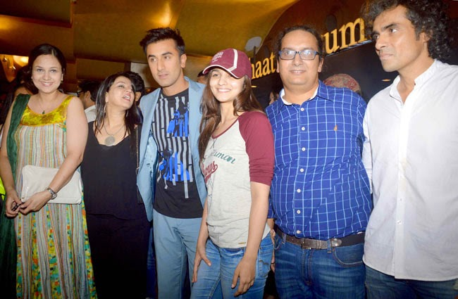 Ranbir Kapoor & Alia Bhat at the launch of 'Shuruaat Ka Interval' short film festival
