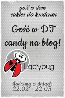 Ladybug, cukier i kredens