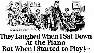 John Caples,copy,copywriting,blog de marketing,se rieron cuando me senté al piano,They laughed when I sat down at the piano,tested advertising methods,medición resultados publicidad,cupón anuncios