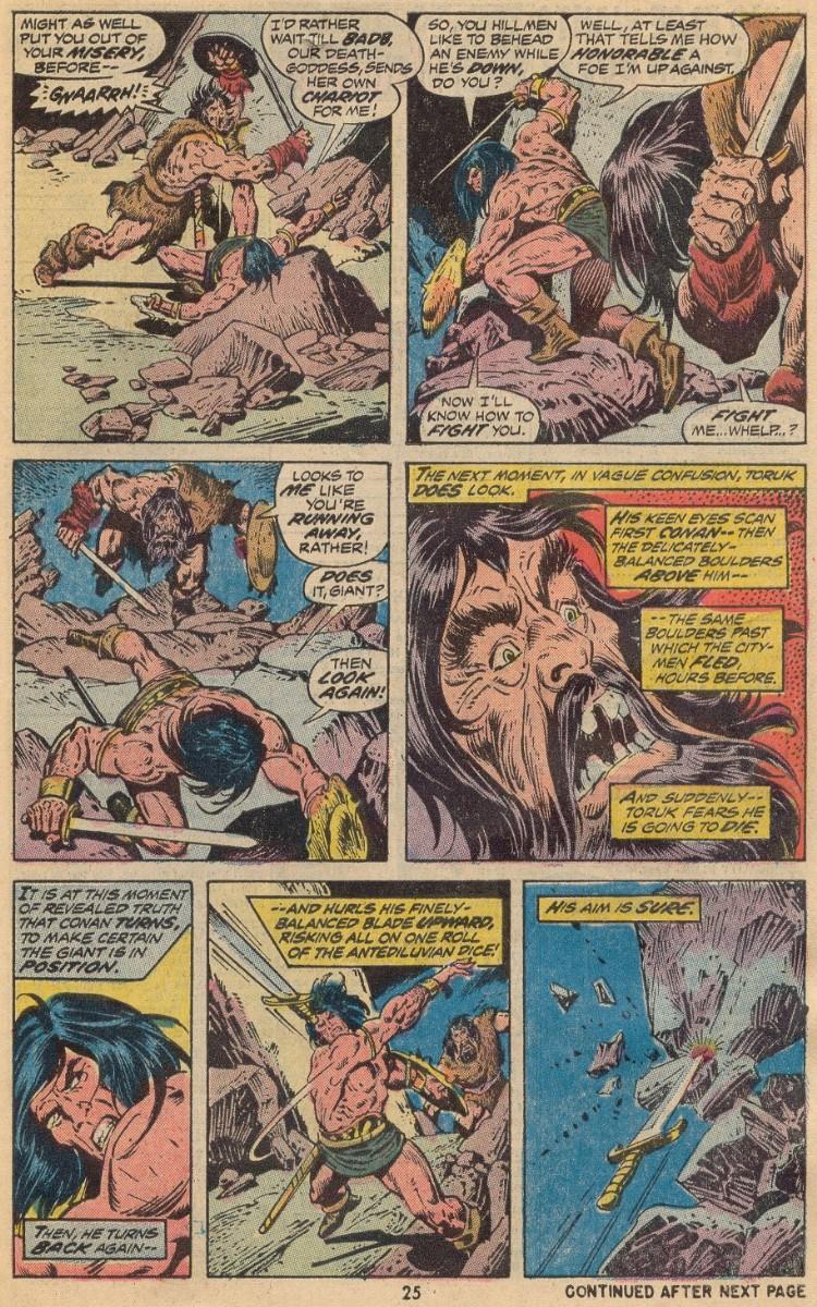 Conan the Barbarian (1970) Issue #31 #43 - English 18