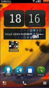 lagenda4046 symbian002 Dual Home Screens 1.0 Symbian^3 Nokia Belle Signed Retailed by Ayurvedic!