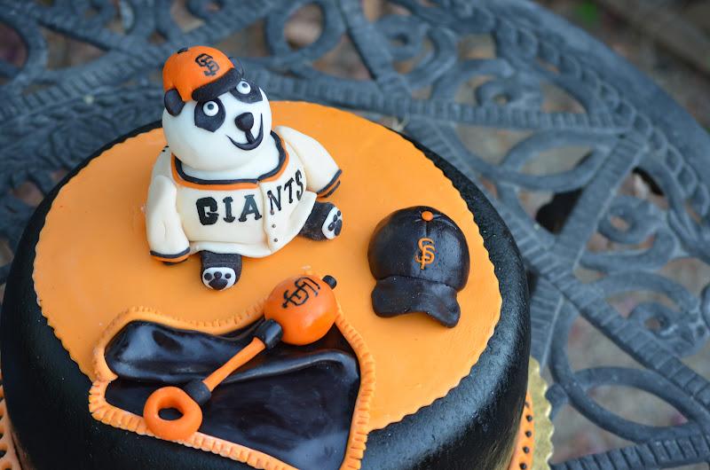 Sf Giants Baby Shower Cake
