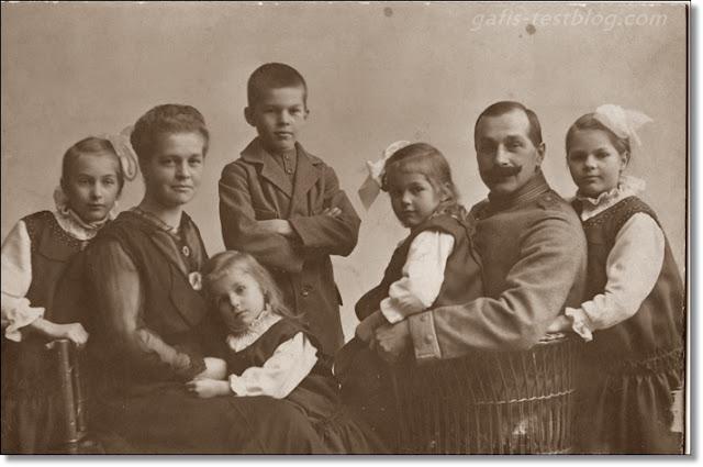 Altes Familienfoto - Fam. Prause