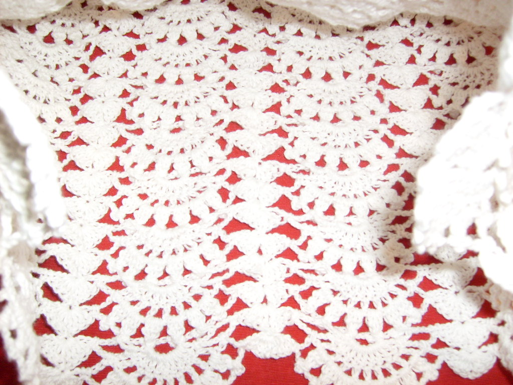 Vestido a crochet para bebé de 3 a 6 meses, hilado de Algodón Nube