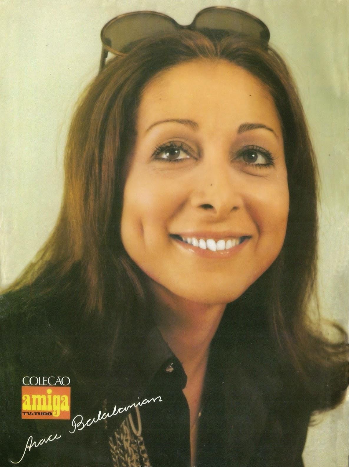 Aracy Balabanian Cool revista amiga e novelas: poster : araci balabanian