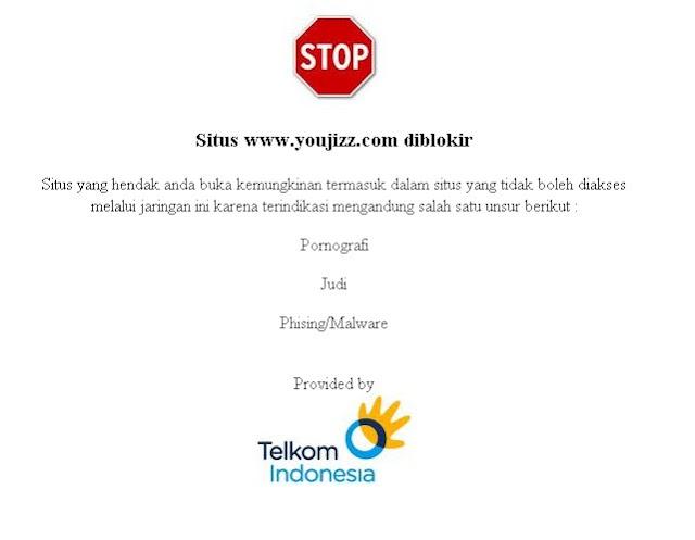 Cara Mudah Membuka Situs Website yg di blockir Telkom Speedy