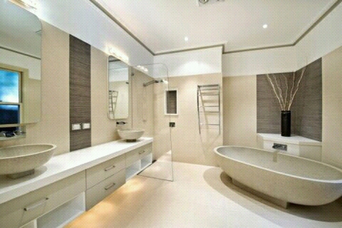 Modern homes modern bathrooms designs setting ideas. | Modern Home ...