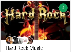 Hard Rock Music (Google+ Group)