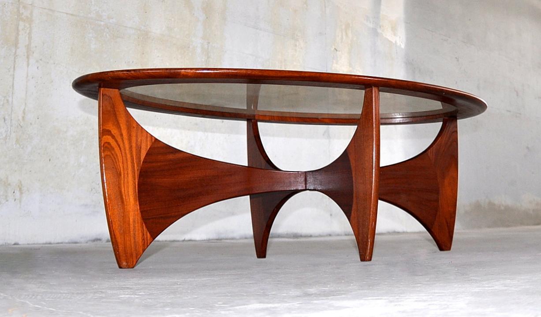 Ib Kofod Larsen Danish Modern Astro Coffee Table