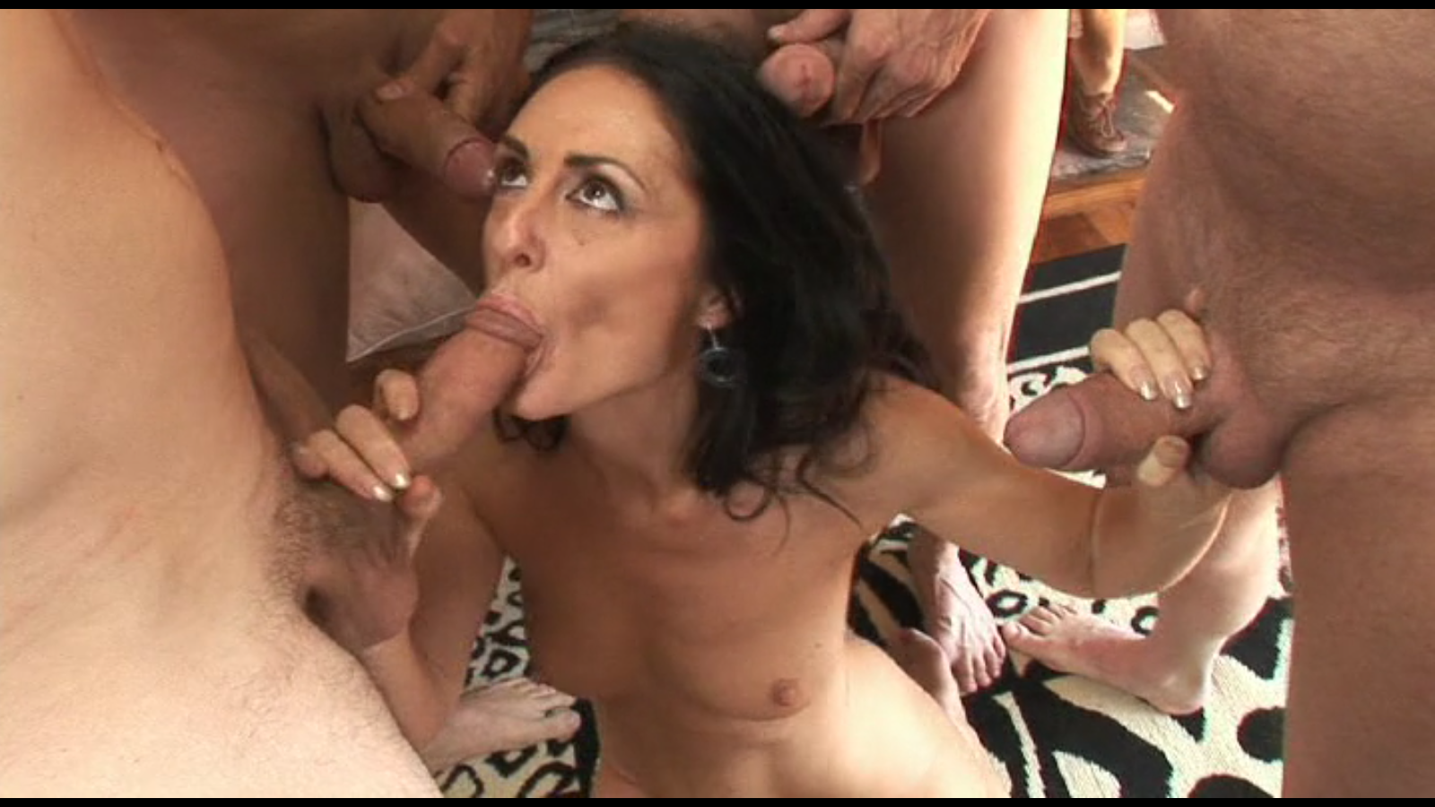 Cum Swallowing Milfs - scene #2 - Lake Russell - Nude Porn Naked