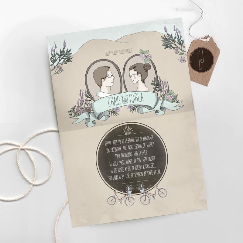 Gotcha Covered Illustrated Wedding Stationery Inspiration