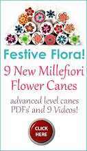 Millefiori Festive Flora Tutorial