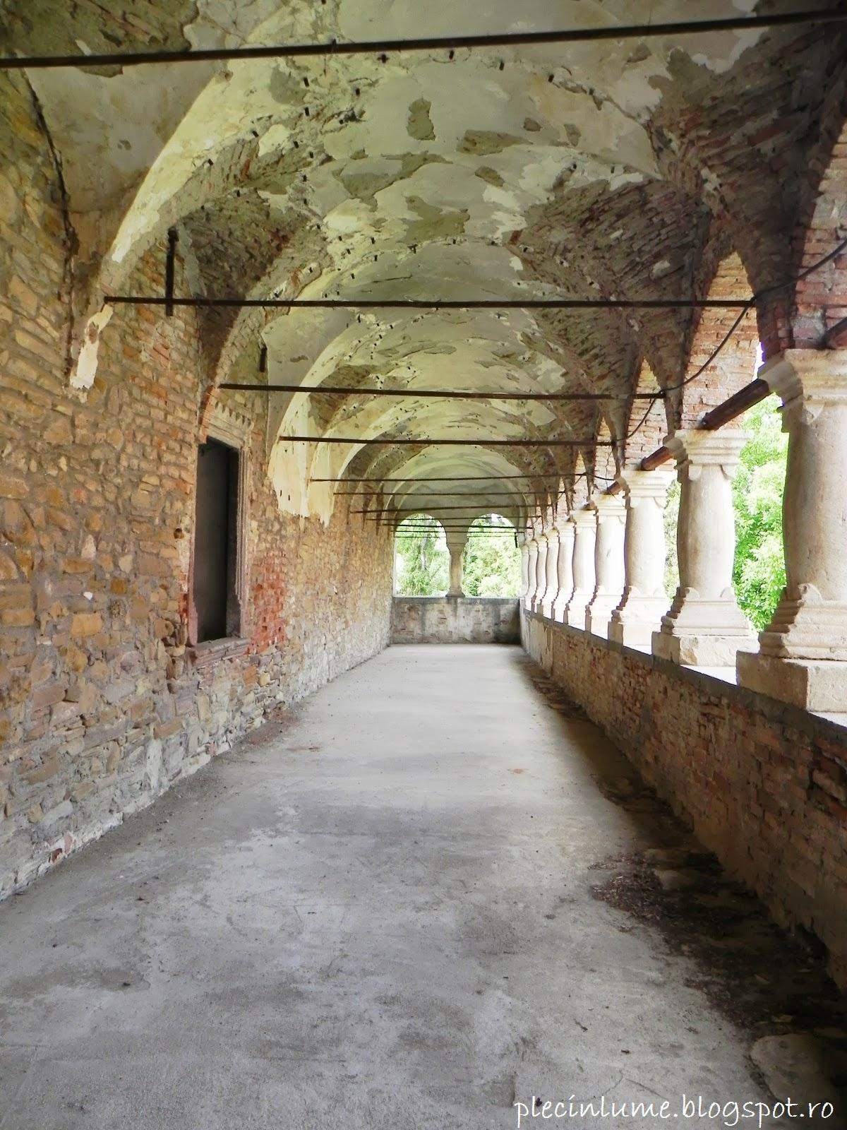 Loggia castelului Bethlen