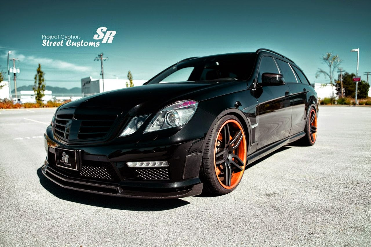 Benztuning mercedes benz w212 e63 amg estate brabus style for Mercedes benz brabus amg
