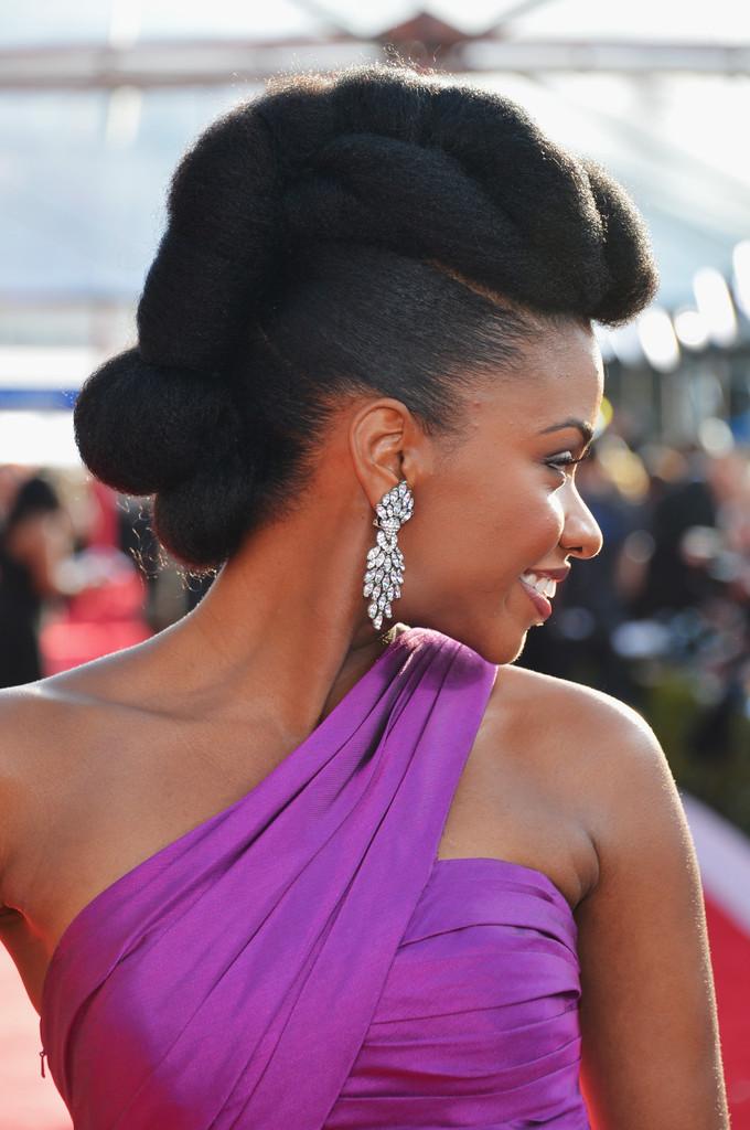 ... Does the Teyonah Paris' Hairstyle Tutorial - KeepitKinkyKeepitKinky