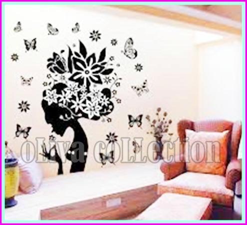 wall sticker wanita - oliva collection