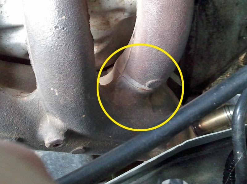 Cracked manifold problems hyundai coupe