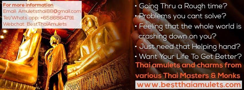 Thai Amulets Charms Culture 泰國佛牌聖物文化