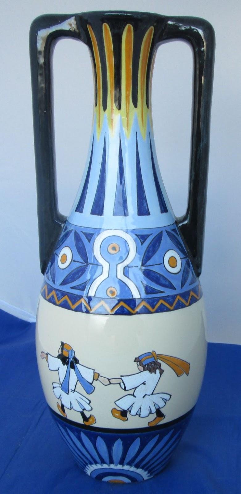 henriot quimper vase circa 1930 sold. Black Bedroom Furniture Sets. Home Design Ideas