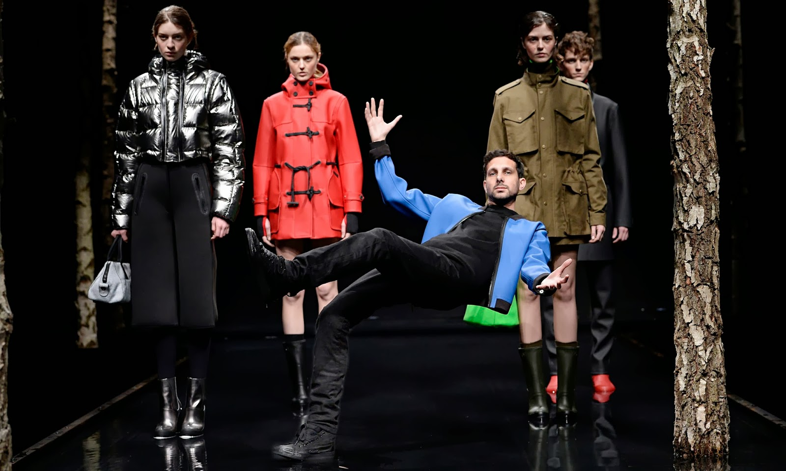 Dynamo in Hunter Original - London Fashion Week FW14