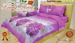 Sprei Lady Rose Emerald