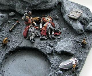 diorama władca pierścieni