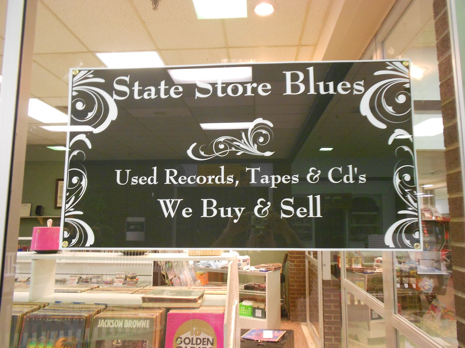 State Store Blues Used Records