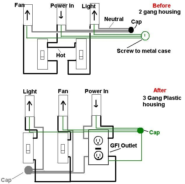 Electrical Wiring Diagram Questions : My knowledge base learning about the common electrical