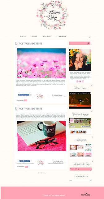 Layouts para blog