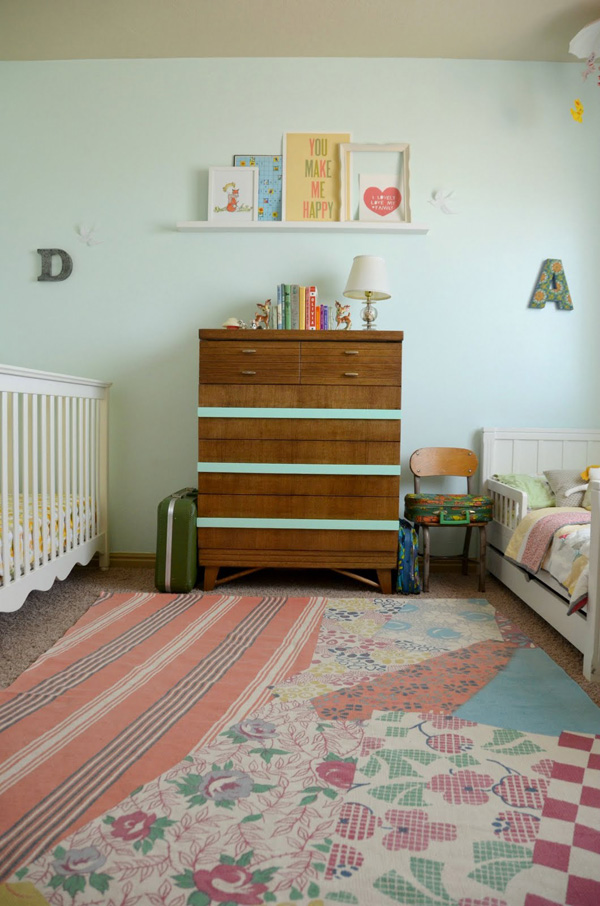 Hart Sew Vintage Baby Clothing Nursery Tour