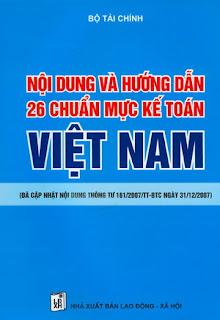 26 Chuẩn mực kế toán Việt Nam