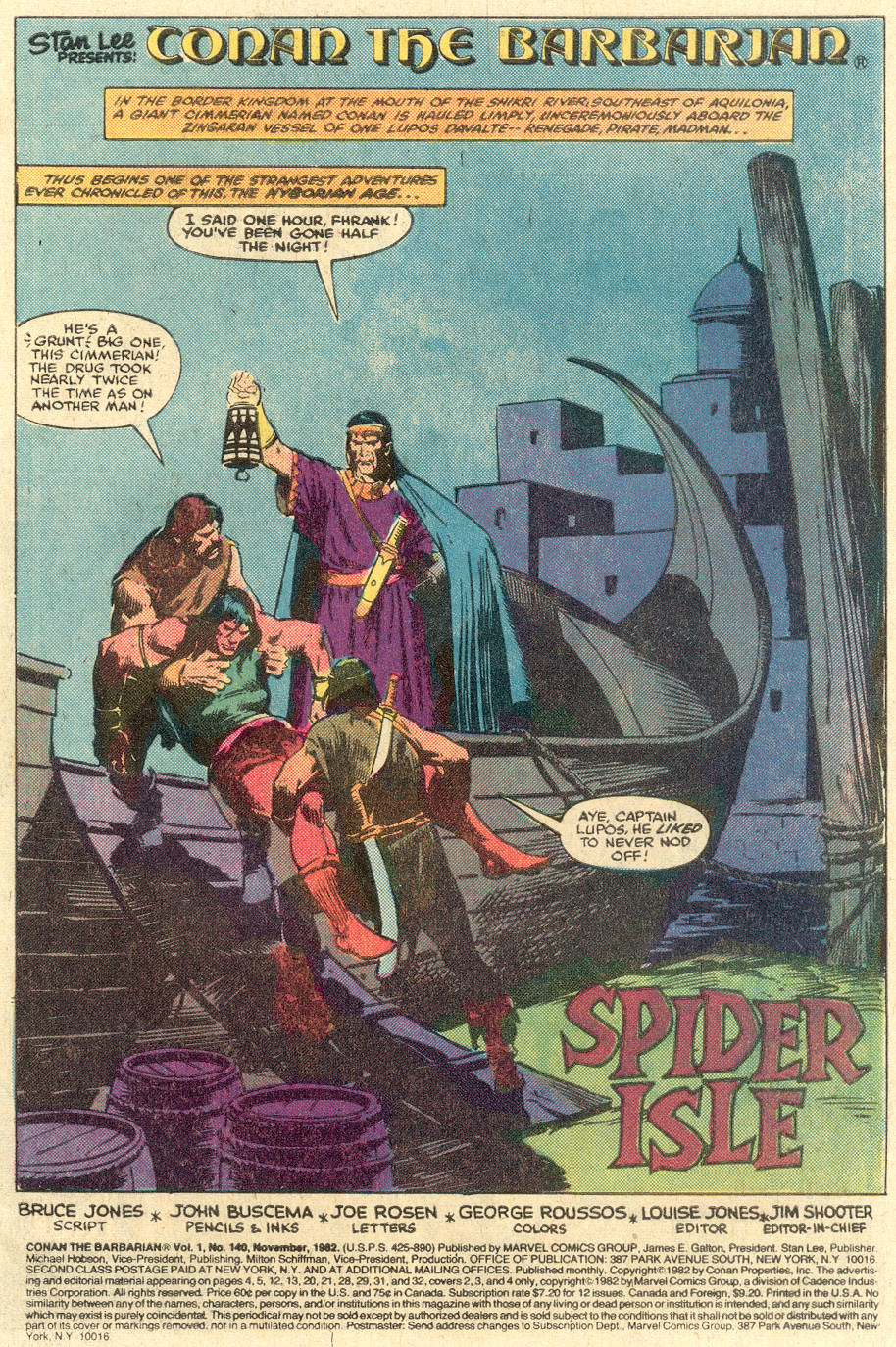 Conan the Barbarian (1970) Issue #140 #152 - English 2