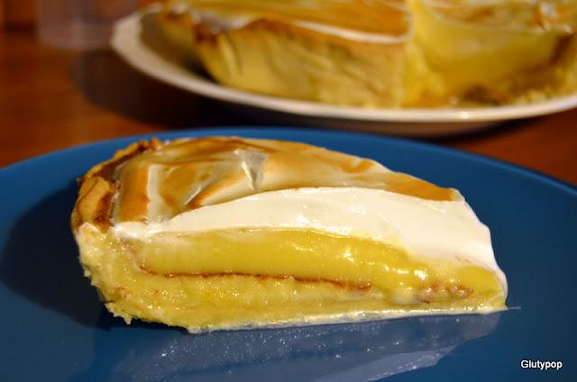 Tarta de lima-limón
